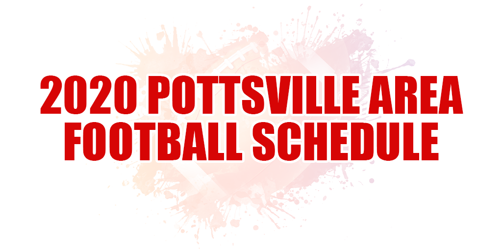 🏈 2020 Pottsville Area Football Schedule