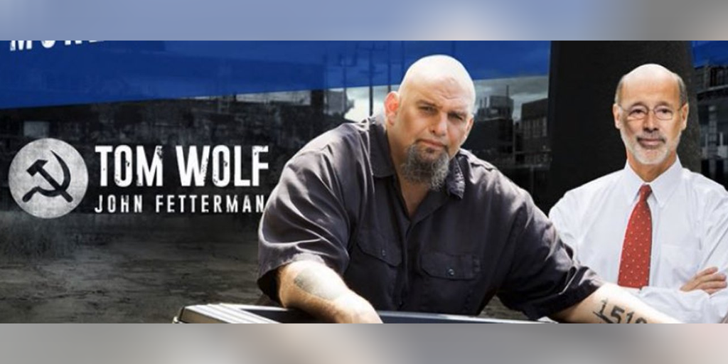 Why Does John Fetterman's Twitter Account Feature the Communist Hammer and Sickle?