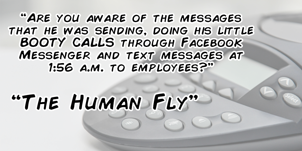 Commissioners Meeting Off the Rails – Booty Calls, The Human Fly, Censorship and Calls for More Resignations
