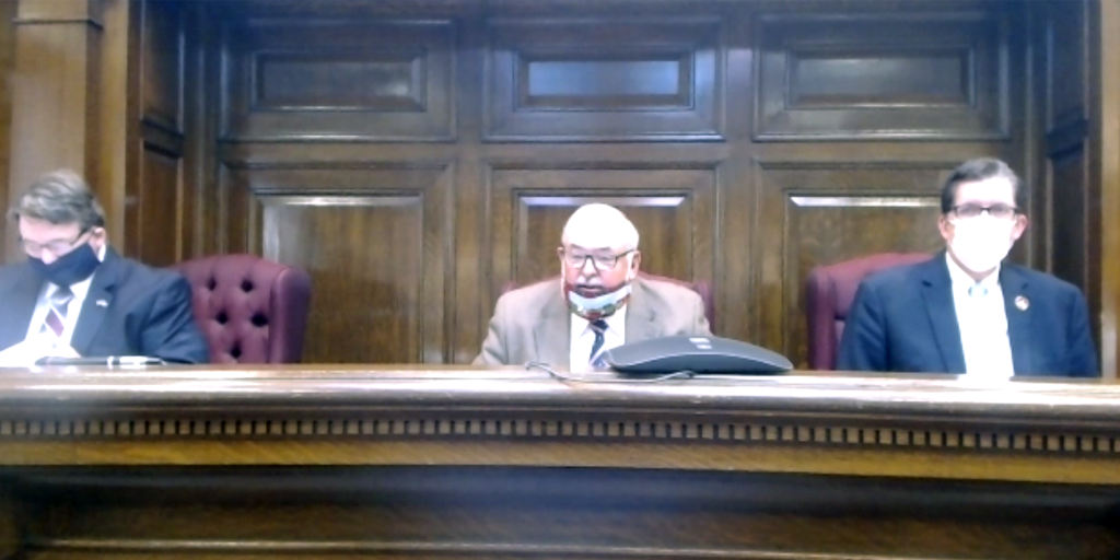 schuylkill county commissioners video