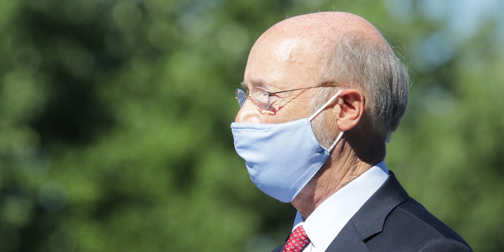 Wolf Now in Threat Mode Over Face Masks