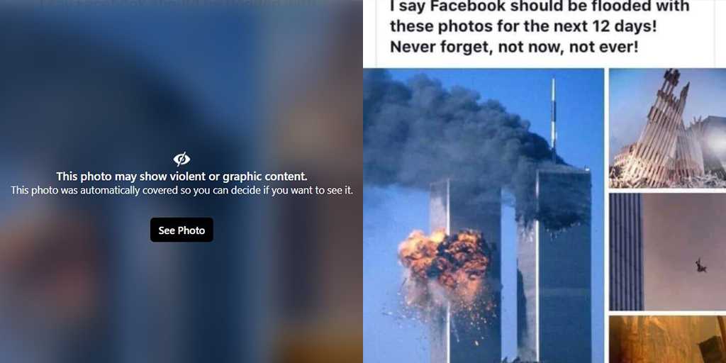 Facebook Wants You to Forget September 11th – But You Should Never Forget