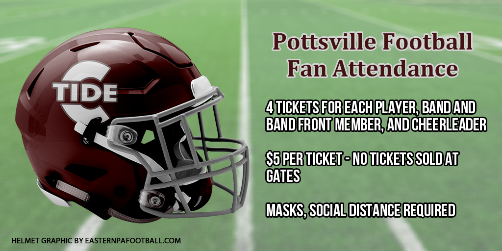 Pottsville Begins Allowing Some Fans at High School Football and Volleyball Games