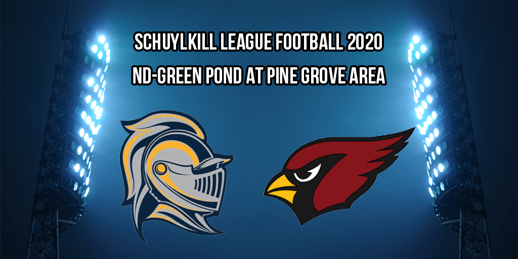 REPLAY: Notre Dame-Green Pond at Pine Grove Area (2020 Schuylkill League Football – Week 1)