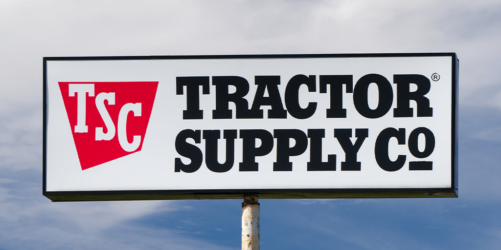 tackle box stolen at tractor supply