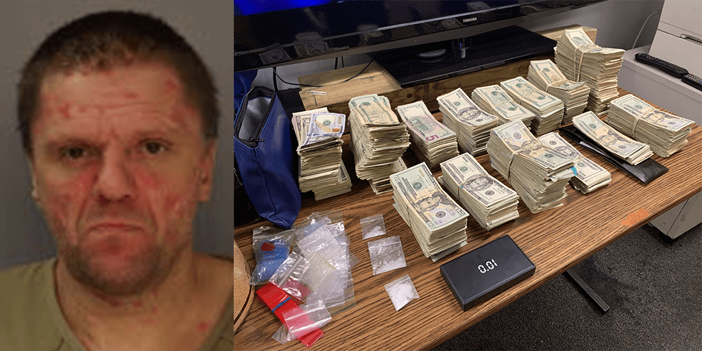 "Minersville Meth Dealer Who ""Eyeballed"" Bags Had $103K in Cash at Arrest"