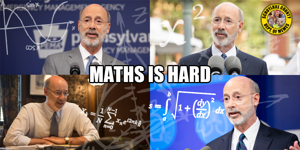 Tom Wolf's New Crowd Size Limits in Pennsylvania Defy Math and Logic