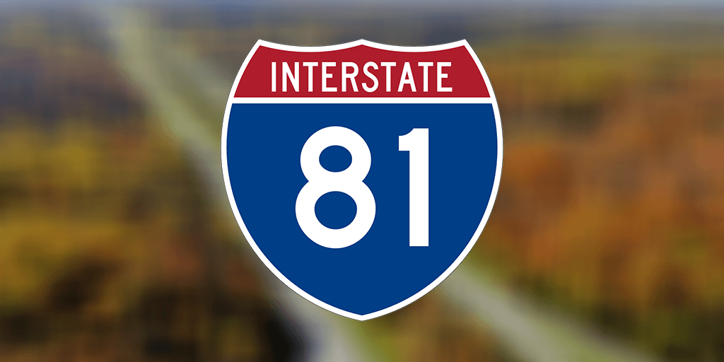 thrown rock damages truck injures driver interstate 81 schuylkill county