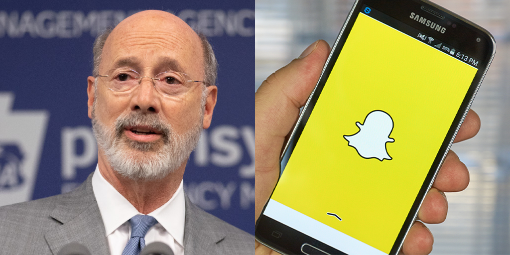 Berks County Woman Arrested for Snapchat Post Threatening to Kill Tom Wolf