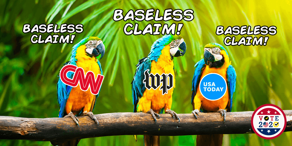 What it Means When the Media Uses the Phrase 'Baseless Claim'