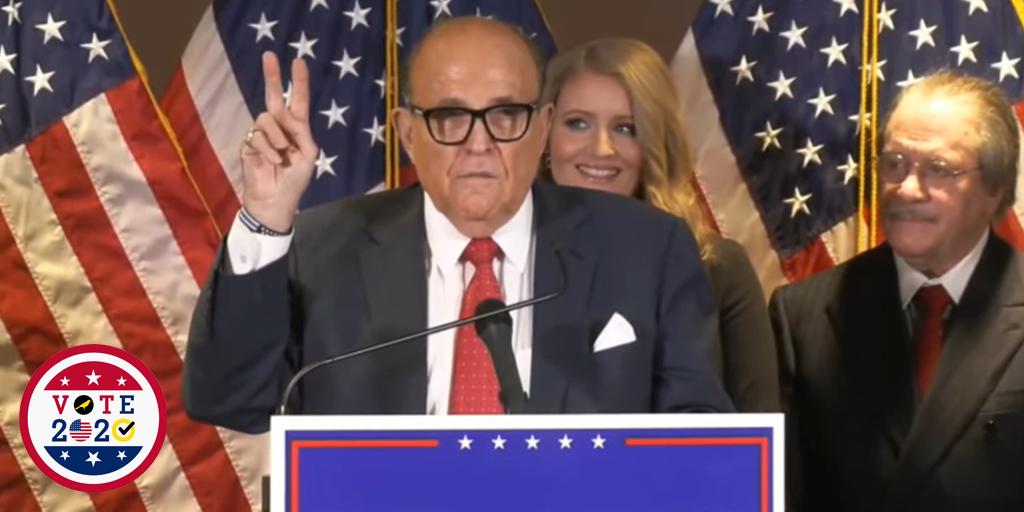 giuliani powell release the kraken trump voter fraud