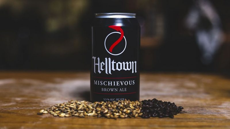 helltown brewing mischievous brown ale