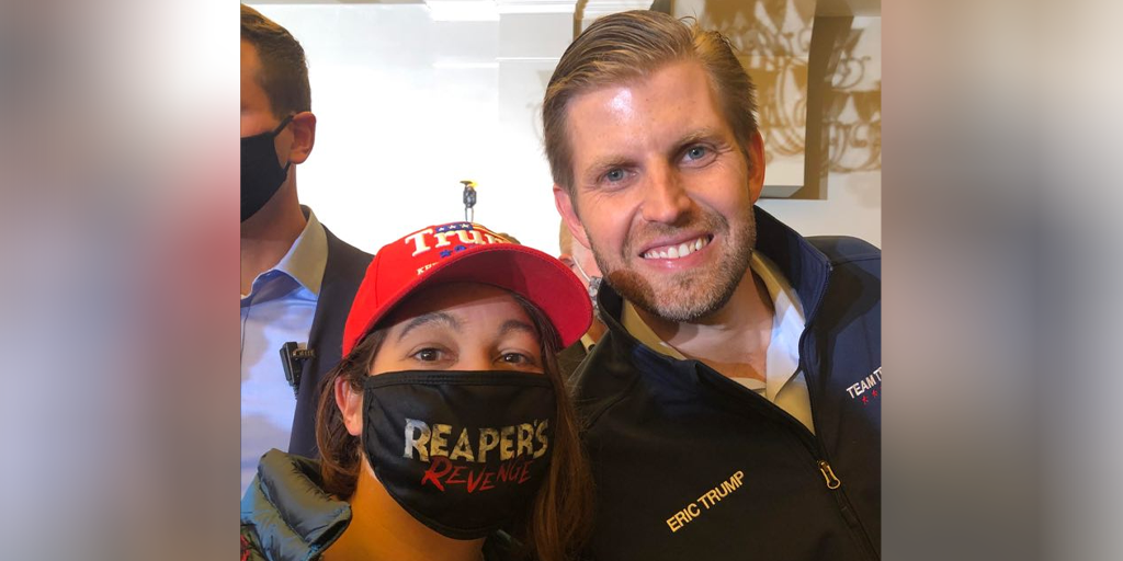 Eric Trump Rallies for Father in Carbondale