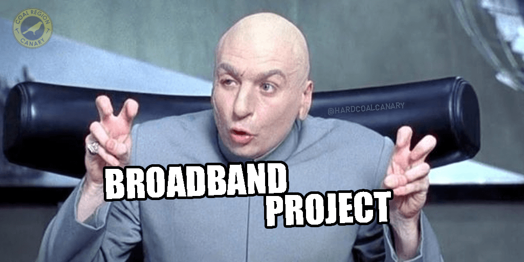 "Schuylkill Commissioners Approve $6.11M Bonds for ""Broadband Project"""
