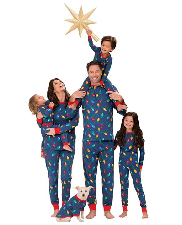 new matching pajamas