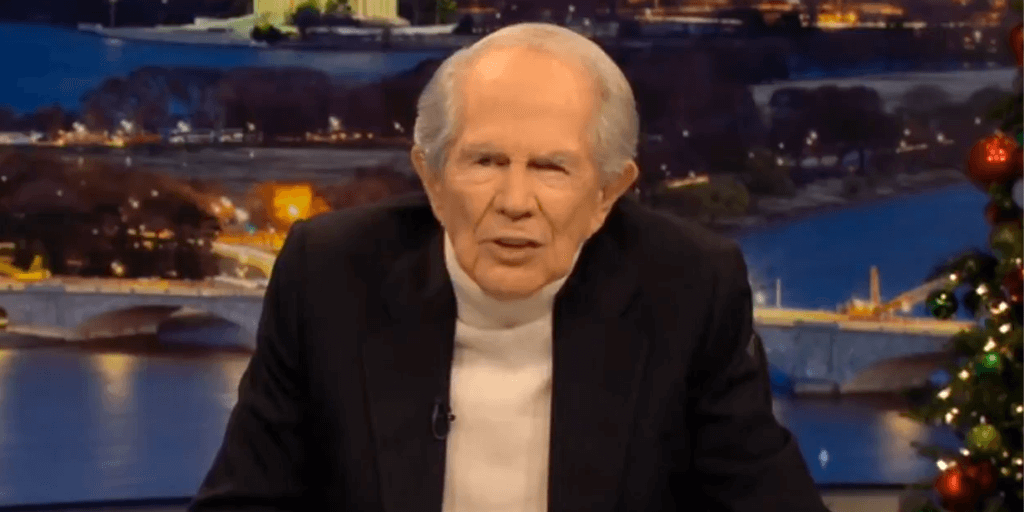 Pat Robertson Tells Trump to Move On from 2020 Election, Leftists Rush to Praise Pat Robertson