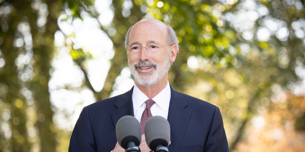 Pennsylvania Gov. Tom Wolf is COVID-19 Positive