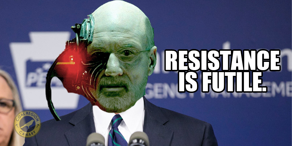 tom wolf resistance is futile