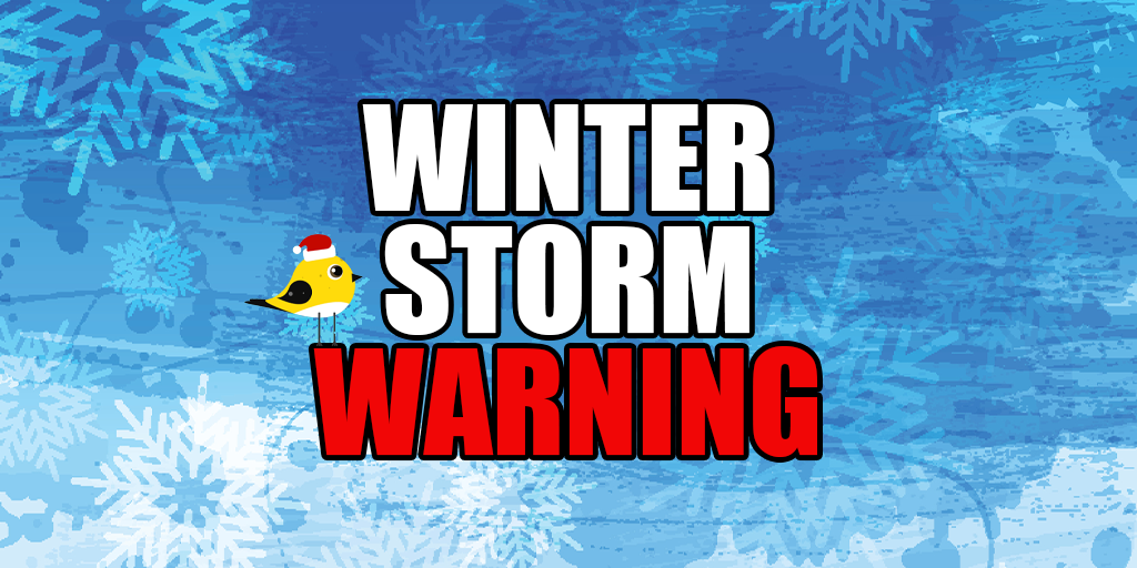 ⚠️ WINTER STORM WARNING for Schuylkill County (Sunday-Tuesday)