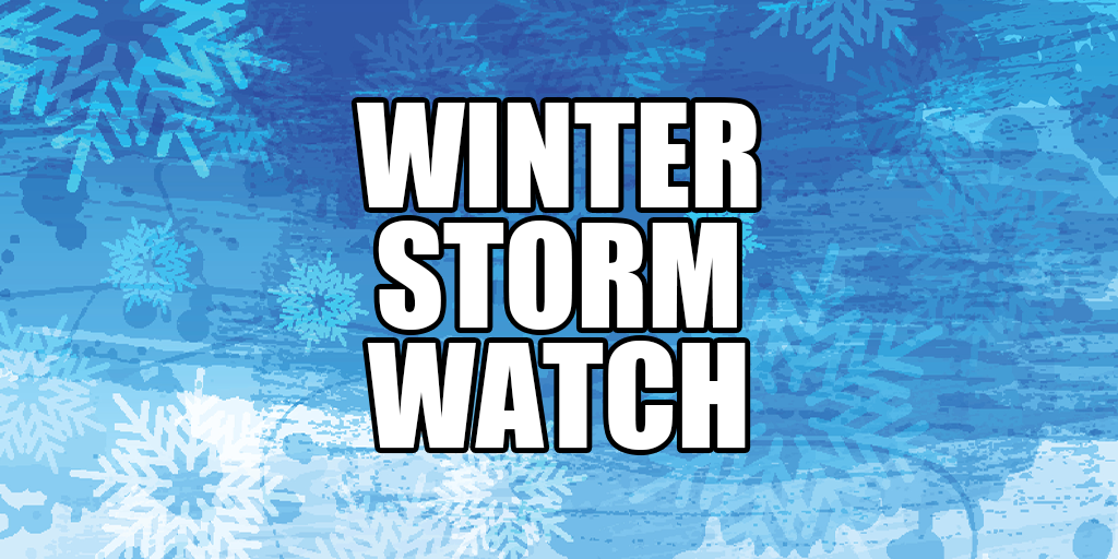 ❄️ WINTER STORM WATCH for Schuylkill County (Monday-Tuesday)