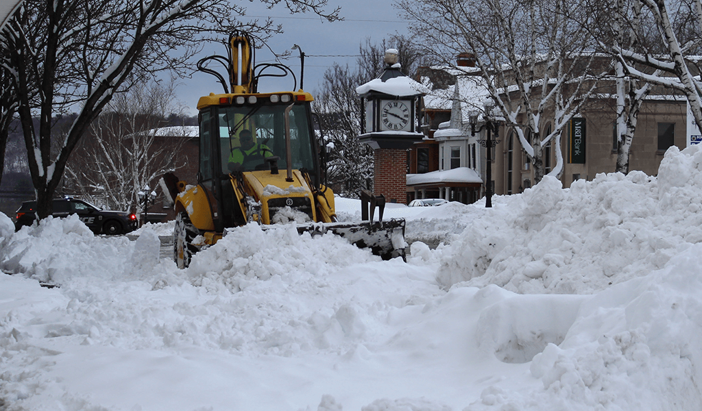 Schuylkill County Digs Out from the Great Nor'easter of 2021