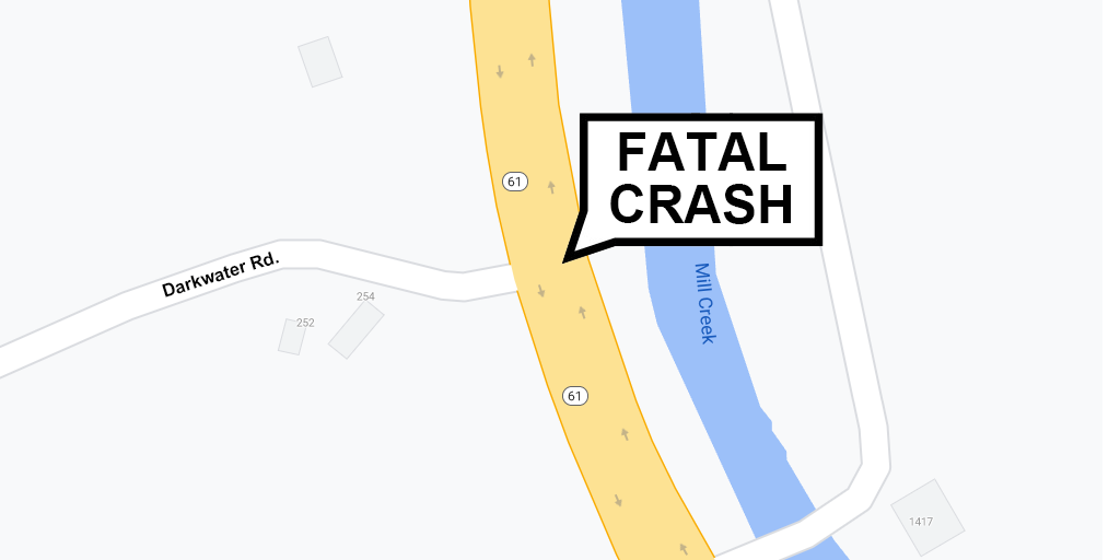 Route 61 Crash Claims Life of Minersville Woman
