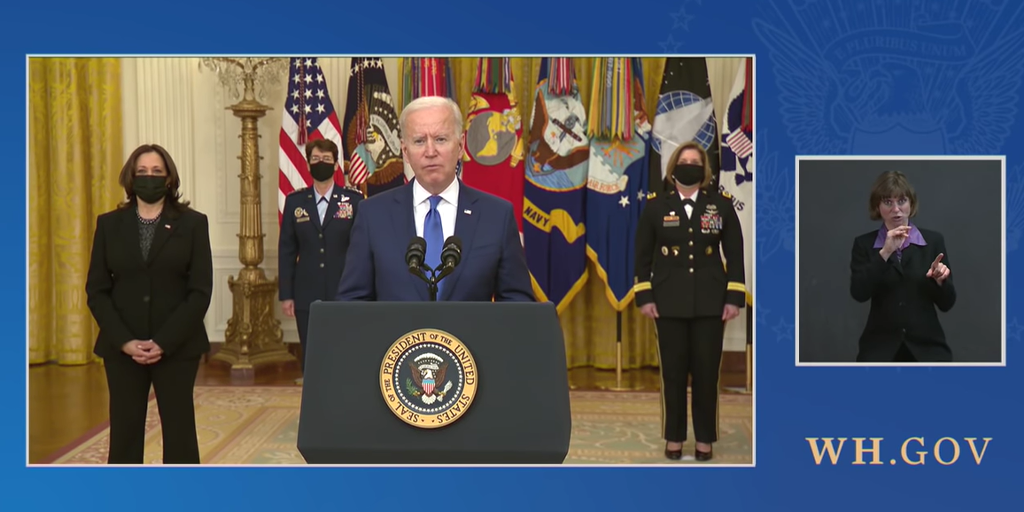 Biden Can't Remember the Name of His Secretary of Defense