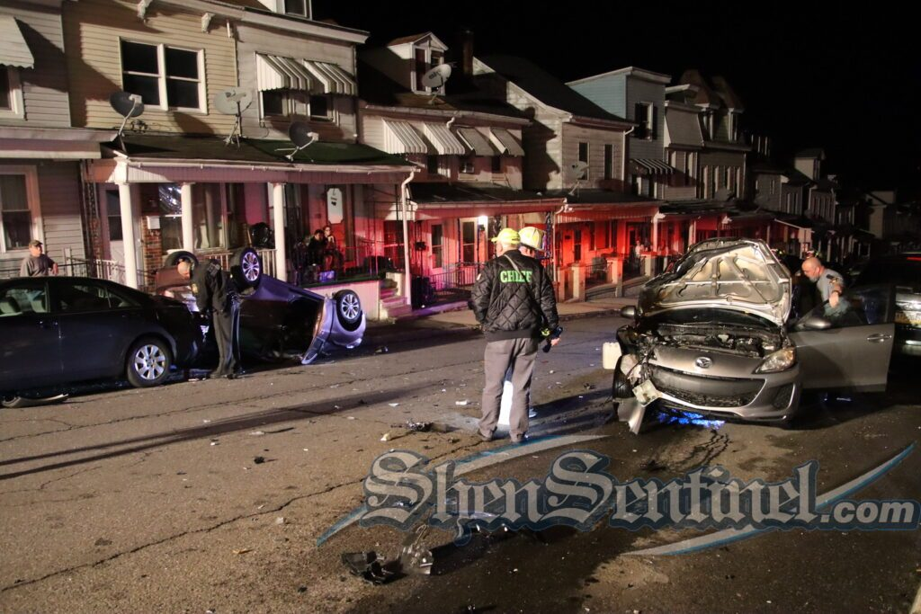 Schuylkill County Man Crashes Into Parked Cars on Both Sides of the Street
