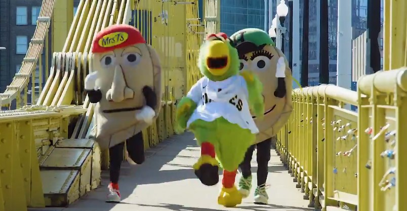 Racing Mrs. T's Pierogies Forced Out of Pirates Games … Because COVID, Of Course