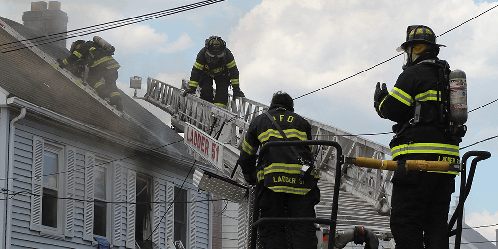 Emergency Crews Control House Fire in Pottsville