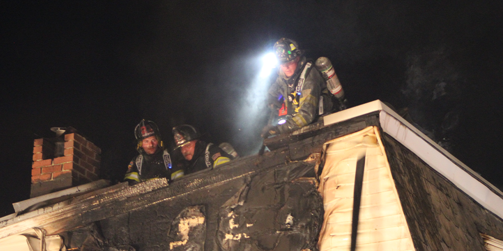 Fire Damages Home on Pottsville's East Side Saturday Night