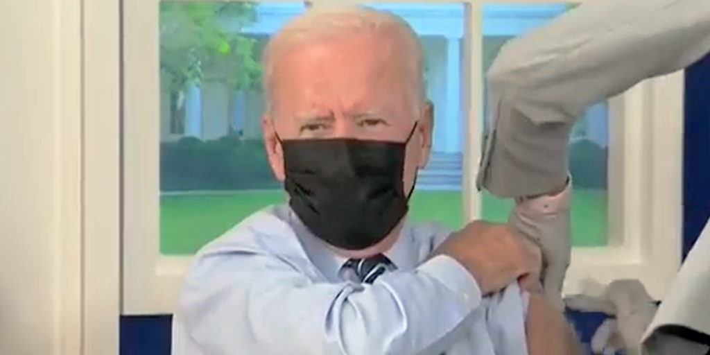 Biden Gets COVID Booster Shot Like a Big Boy – Says 97-98% Must Be Vaxxed for Return to Normal