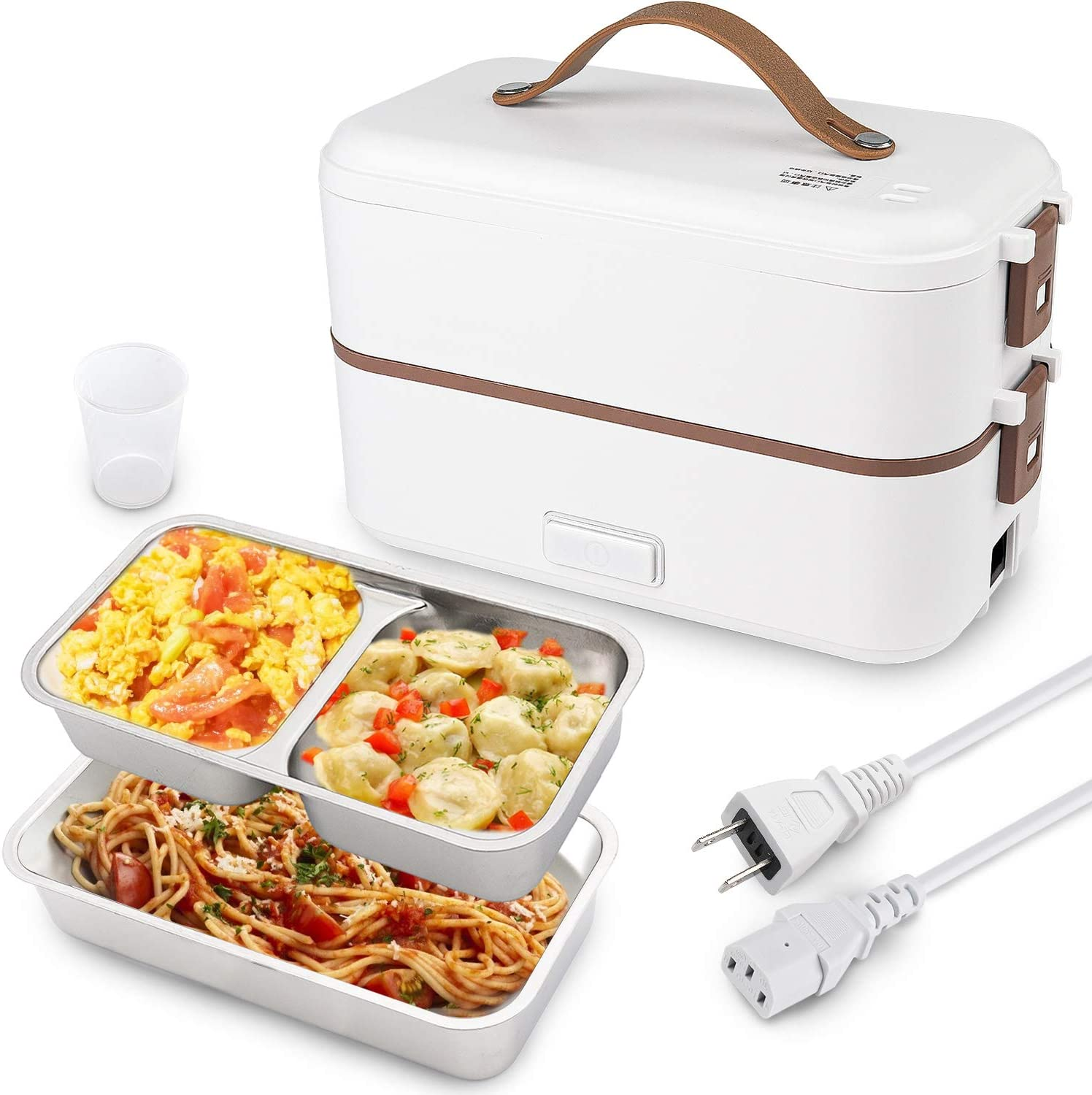 Self Cooking Electric Lunch Box, Toursion Mini Rice Cooker