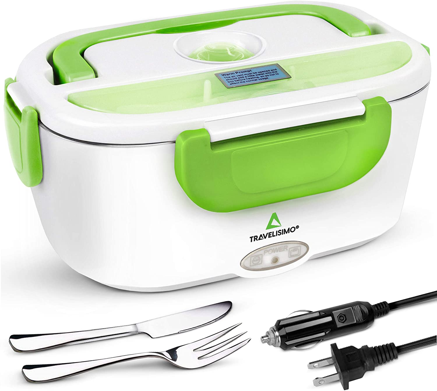 TRAVELISIMO Electric Lunch Box 3 in 1