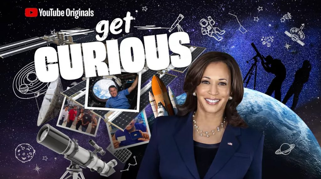The Kamala Harris Space Video You Have to Watch and Then Try to Forget