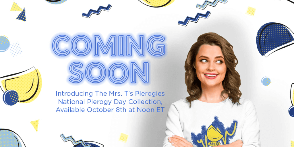 Mrs. T's Giving Away Free Retro Merch on National Pierogy Day