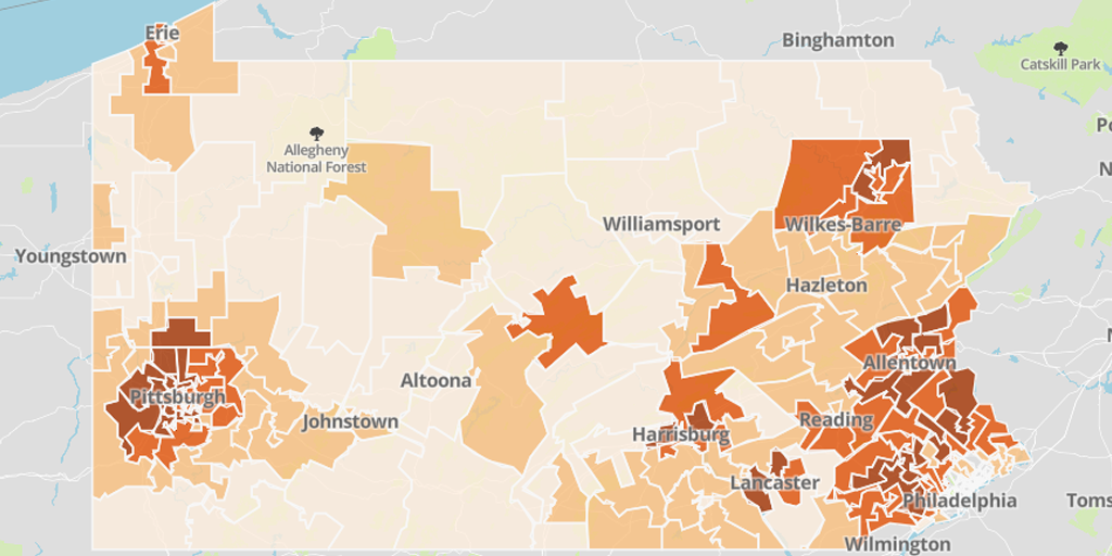 """Democrats: """"Stop Politicizing the Virus""""Also Democrats: """"Here's a Map Showing Vaccination Rates by Voting District"""""""