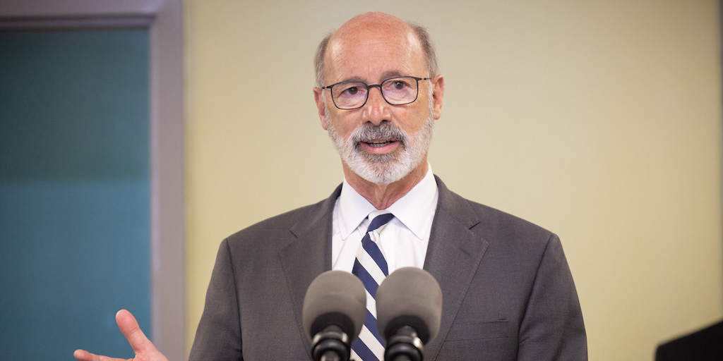 Wolf Wants to Hear from Voters on Pennsylvania Redistricting … But Only His Voters